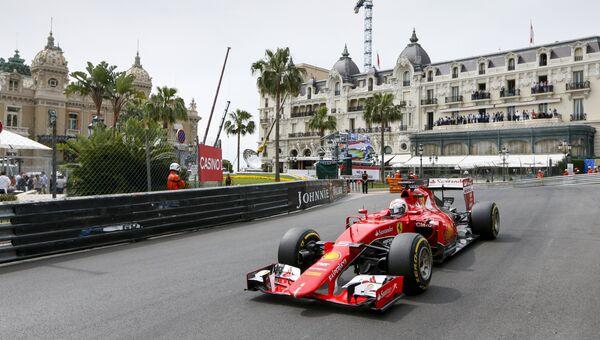 Себастьян Феттель на Гран-при Монако, 23 мая 2015 года