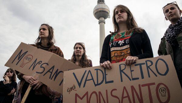 Акции протеста против продуктов с ГМО Марш против Монсанто