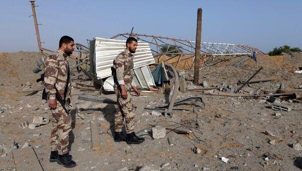 Последствия авиаударов ВВС Израиля по Рафахе
