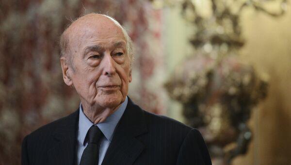 Экс-президент Франции Валери Жискар д'Эстен