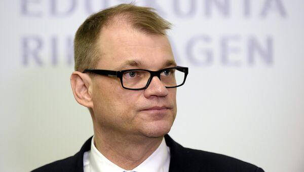 Глава правительства Финляндии Юха Сипиля. Архивное фото