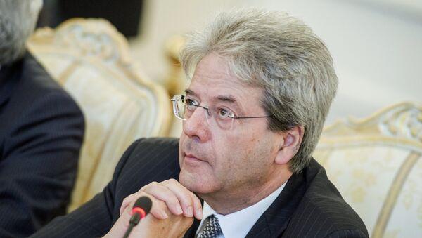 Министр иностранных дел Италии Паоло Джентилони. Архивное фото