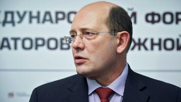 Глава госкомпании Автодор Сергей Кельбах. Архивное фото