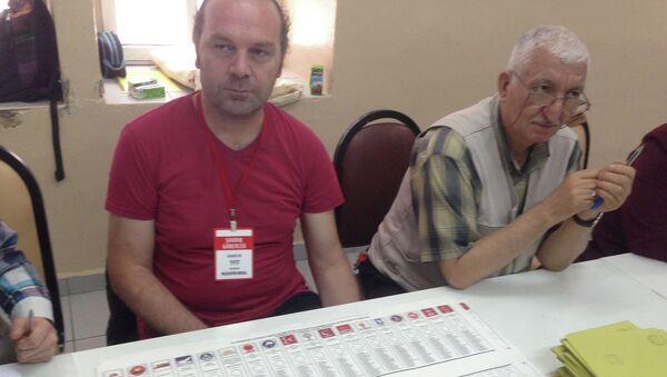 На избирательном участке в Турции