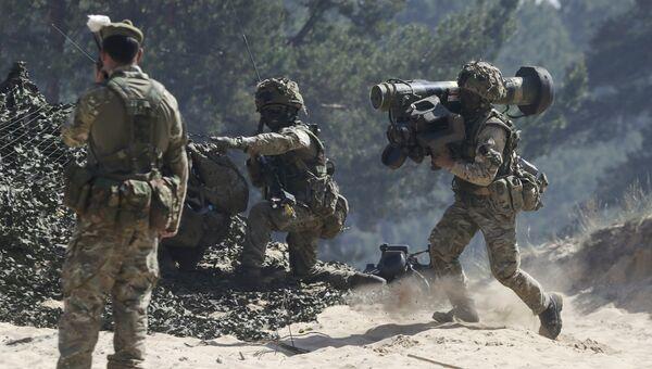 Британские Гуркхи на учениях НАТО Удар сабли в Латвии. Архивное фото