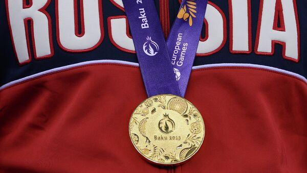 Российский спортсмен завоевал золотую медаль. Архивное фото