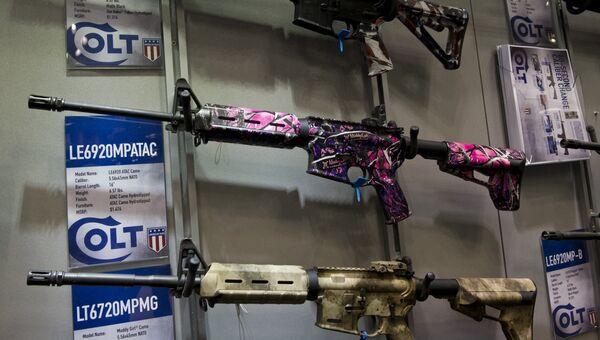Оружие производства фирмы Colt. Архивное фото