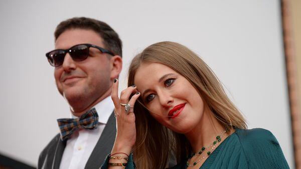 Актер Максим Виторган и телеведущая Ксения Собчак. Архивное фото