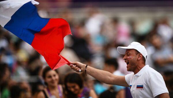 Зрители на I Европейских играх в Баку