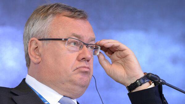 Президент — председатель правления, член наблюдательного совета ОАО Банк ВТБ Андрей Костин. Архивное фото