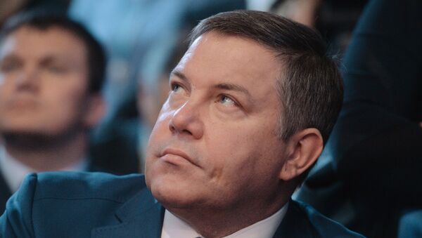 Губернатор Вологодской области Олег Кувшинников. Архивное фото
