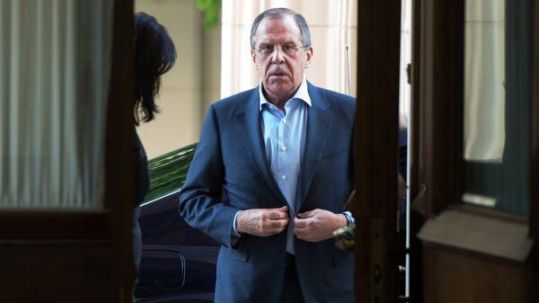 Министр иностранных дел Российской Федерации Сергей Лавров, архивное фото