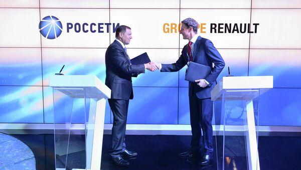 Россети и Renault Россия будут сотрудничать в области развития электротранспорта в РФ