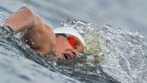 Пловец Евгений Дратцев. Архивное фото