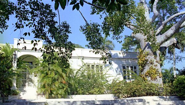 Дом-музей Эрнеста Хемингуэя на Кубе. Архивное фото