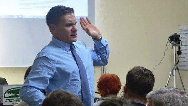 Эколог Евгений Витишко. Архивное фото