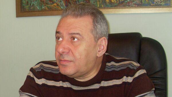 Армянский политик Вагаршак Арутюнян. Архивное фото