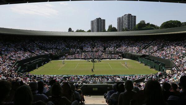 Теннисный корт в Уимблдоне, Великобритания