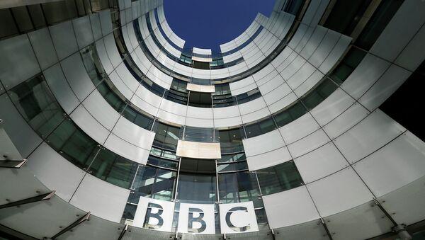 Здание штаб-квартиры теле- и радиовещательной компании Би-Би-Си в Лондоне. Архивное фото