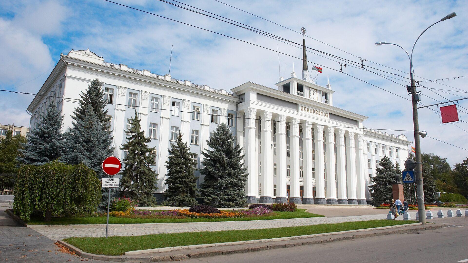 Дом Советов в Тирасполе - РИА Новости, 1920, 12.06.2021