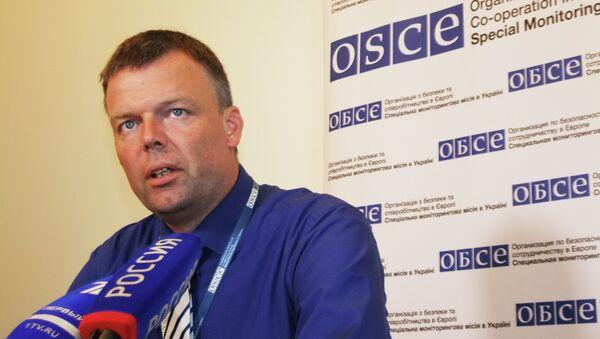Заместитель главы миссии ОБСЕ на Украине Александр Хуг. Архивное фото