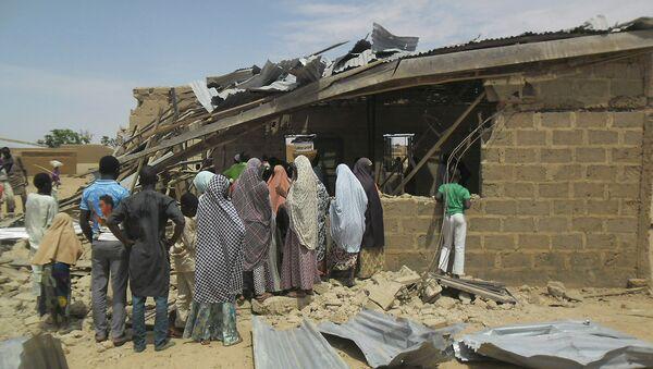 Последствия взрыва в Нигерии. Архивное фото