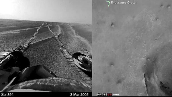Одиннадцать лет на Марсе в одном видео