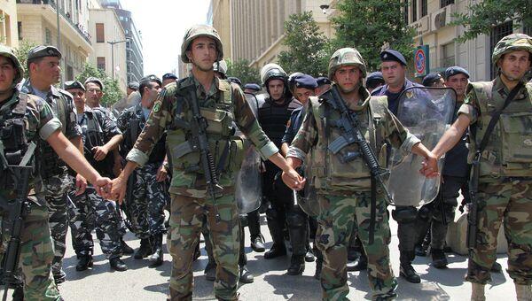 Беспорядки в Бейруте. Архивное фото