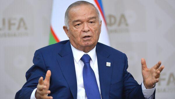 Президент Республики Узбекистан Ислам Каримов. Архивное фото