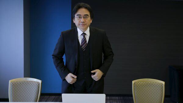 Президент компании Nintendo Сатору Ивата