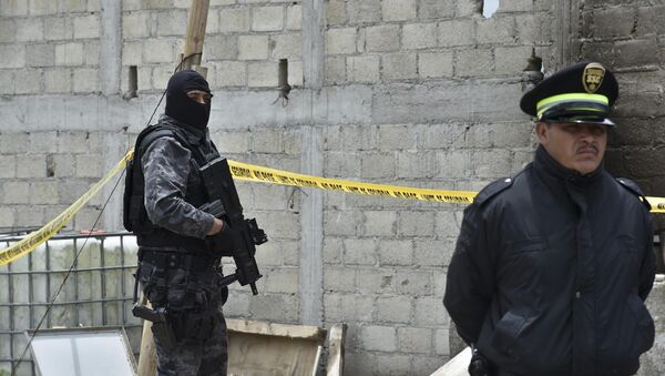 Мексиканская полиция. Архивное фото