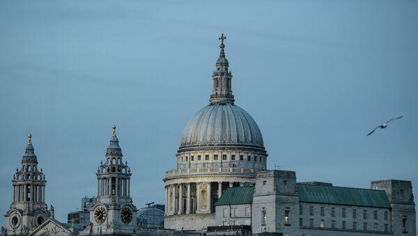 Здание собора Святого Павла в Лондоне