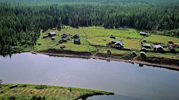 Река Лена в Якутии. Архивное фото