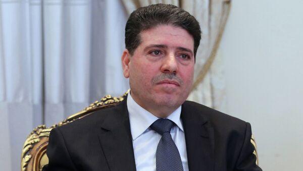 Премьер-министр Сирии Ваиль аль-Хальки. Архивное фото
