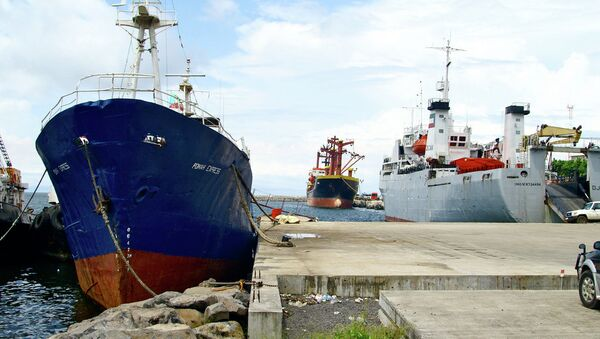 Порт в Малабо. Архивное фото