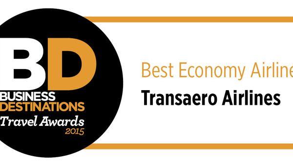 Логотип премии Business Destination Travel Awards