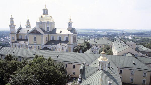 Свято-Успенская Почаевская лавра. Архивное фото