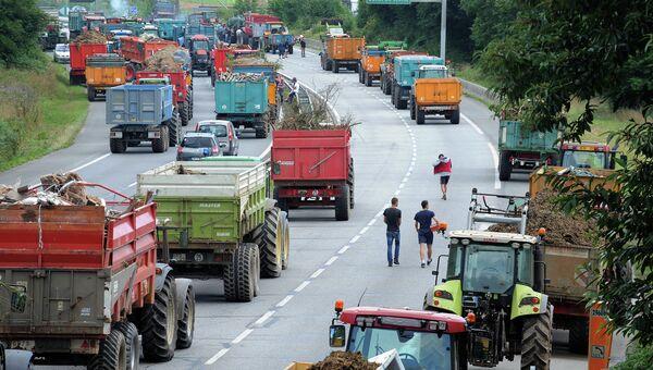 Протесты фермеров во Франции. Архивное фото