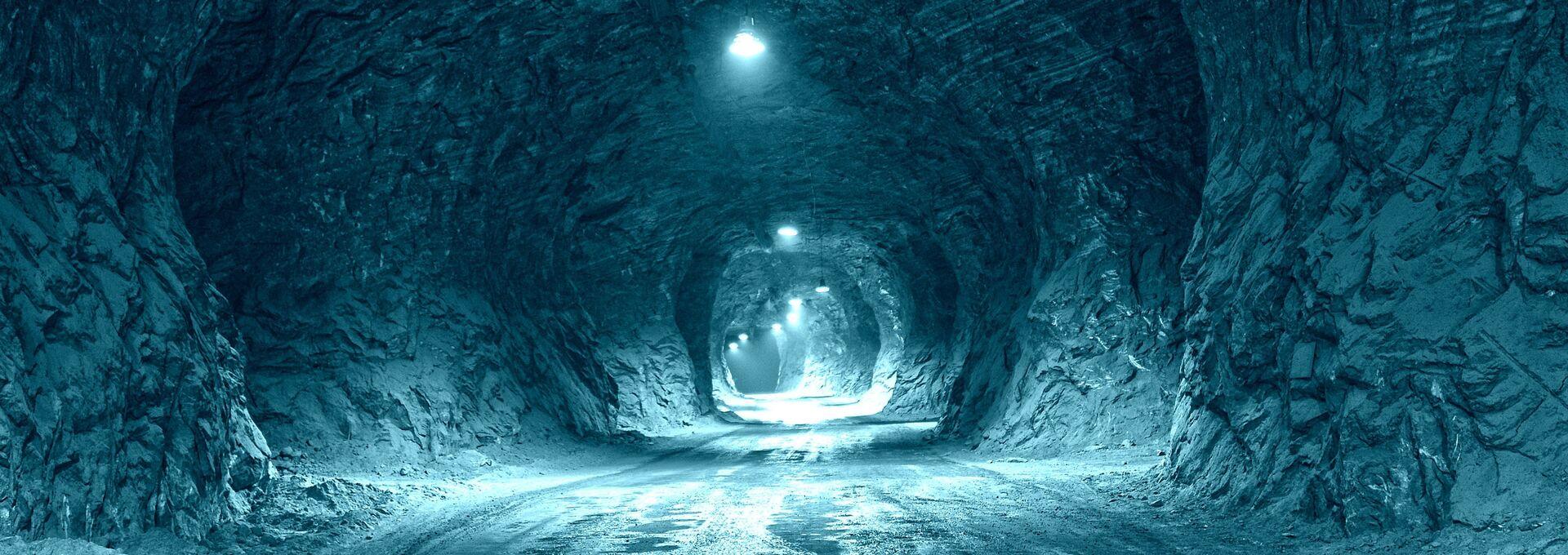 Автомобильный туннель в соляной пещере - РИА Новости, 1920, 19.11.2020