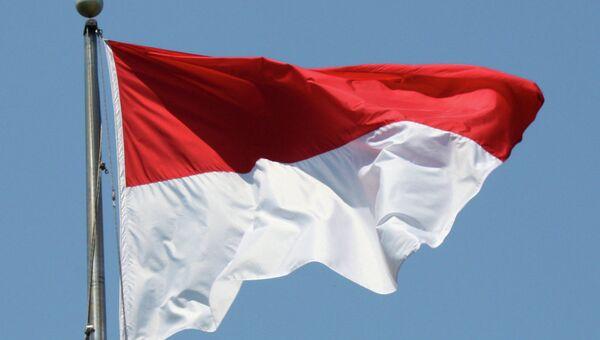 Флаг Индонезии. Архивное фото