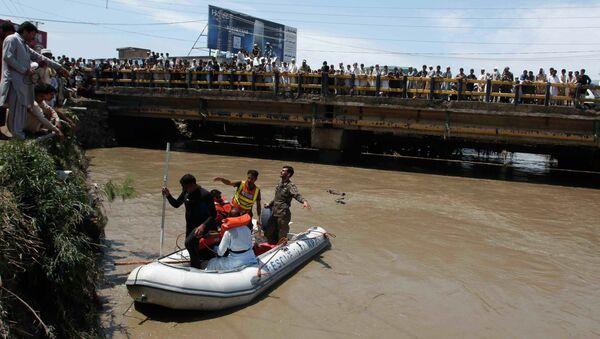 Последствия наводнения в Пешаваре, Пакистан