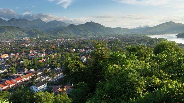 Вид на Луанг-Прабанг, Лаос. Архивное фото