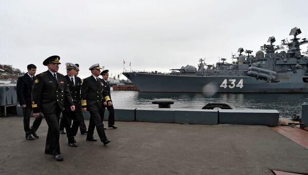 Эсминец Адмирал Ушаков. Архивное фото