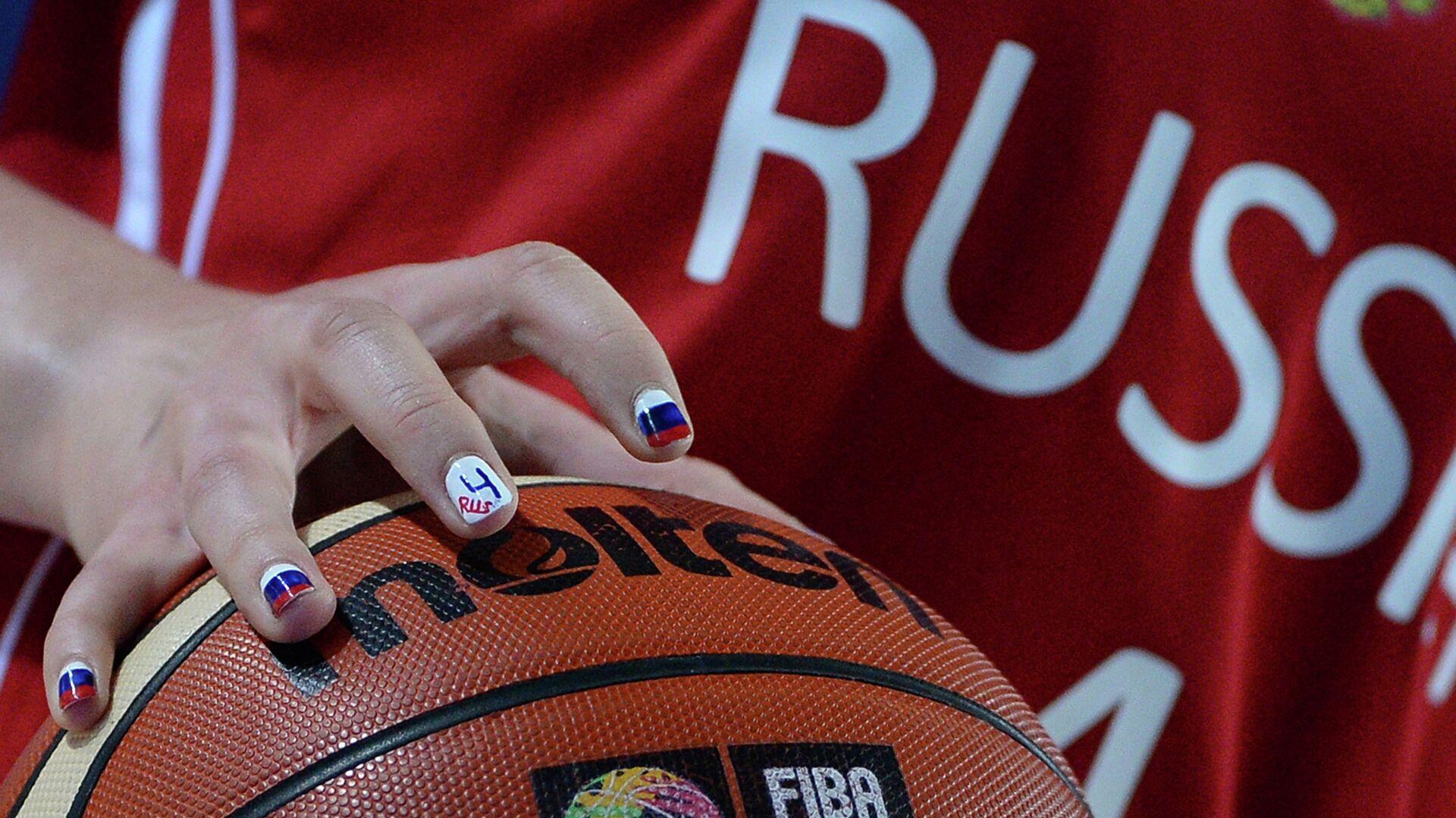 Баскетбольный мяч - РИА Новости, 1920, 16.06.2021