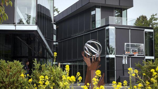 Штаб-квартира ФИБА в Мис, Швейцария. Архивное фото