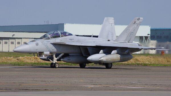 Истребитель F/A-18E/F Super Hornet. Архивное фото