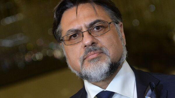 Представитель Луганской Народной Республики Владислав Дейнего. Архивное фото