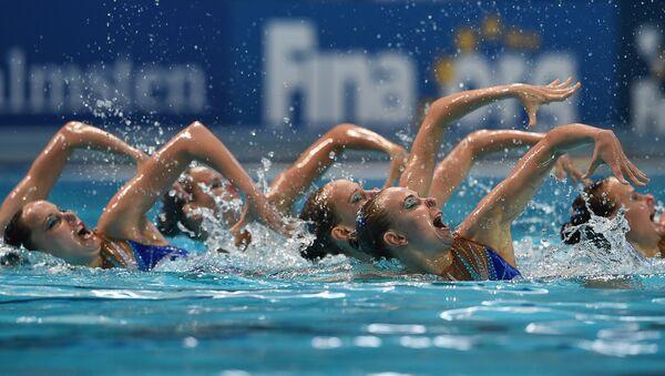 Чемпионат мира FINA 2015. Синхронное плавание. Группы. Произвольная программа. Финал