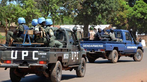 Военнослужащие миротворческой миссии ООН в Центральноафриканской Республике