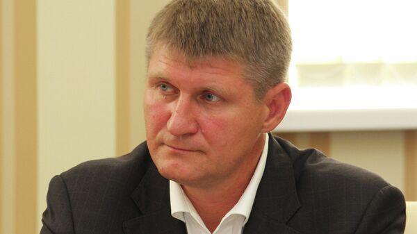 Первый вице-премьер крымского правительства Михаил Шеремет
